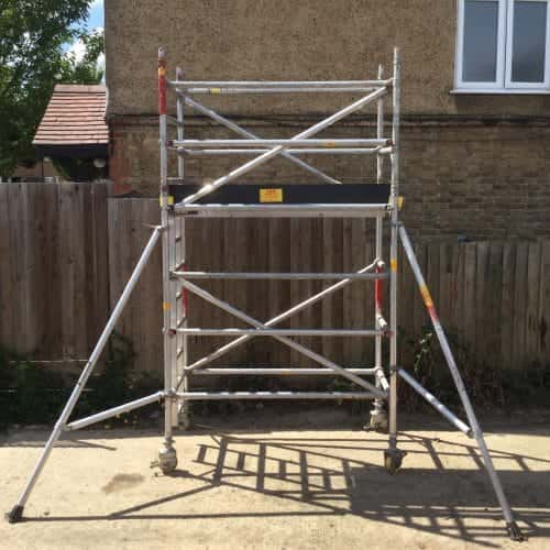 Alloy Boss Scaffold Tower